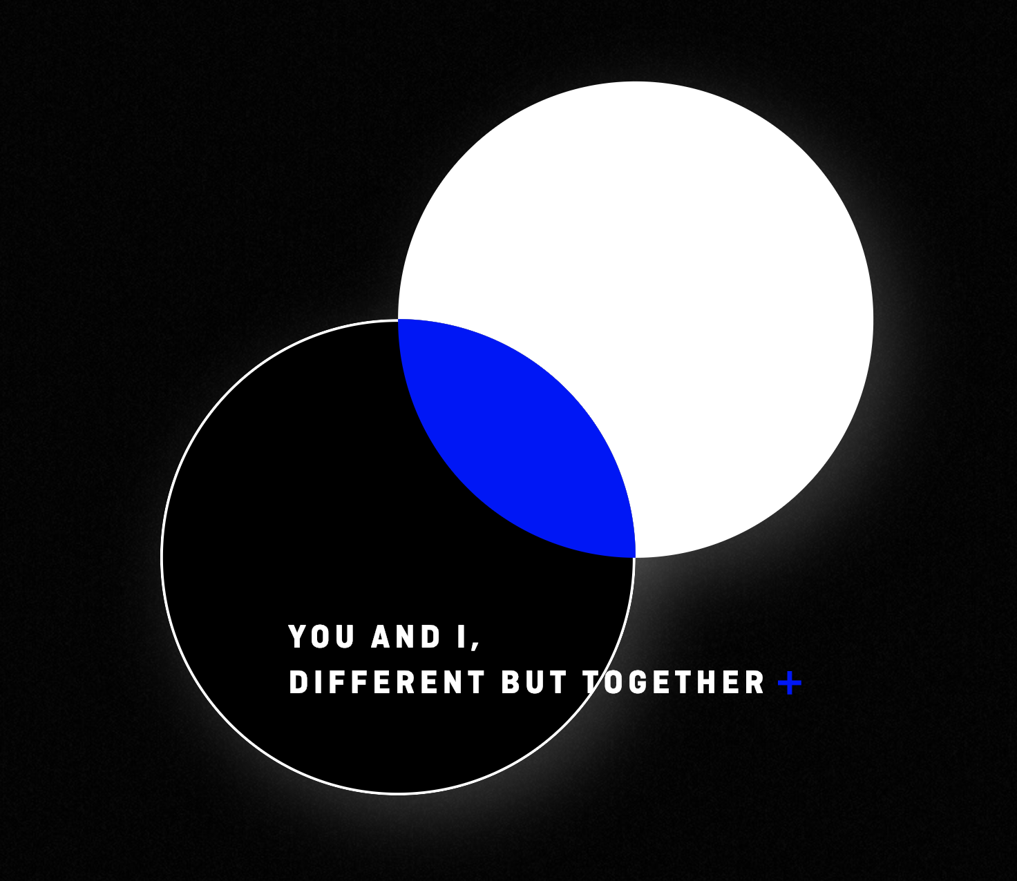 TXT: You and I, different but together. Screengrab from  TXT microsite