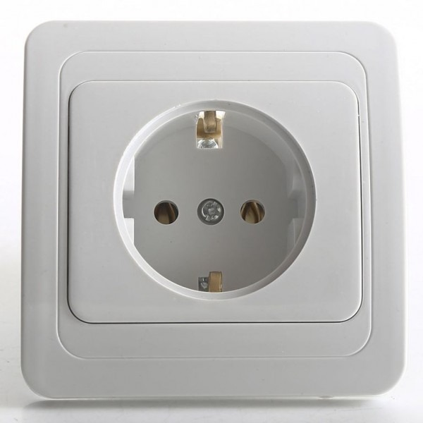 Plugs in South Korea have two round holes. Image credit:  110220volts Store