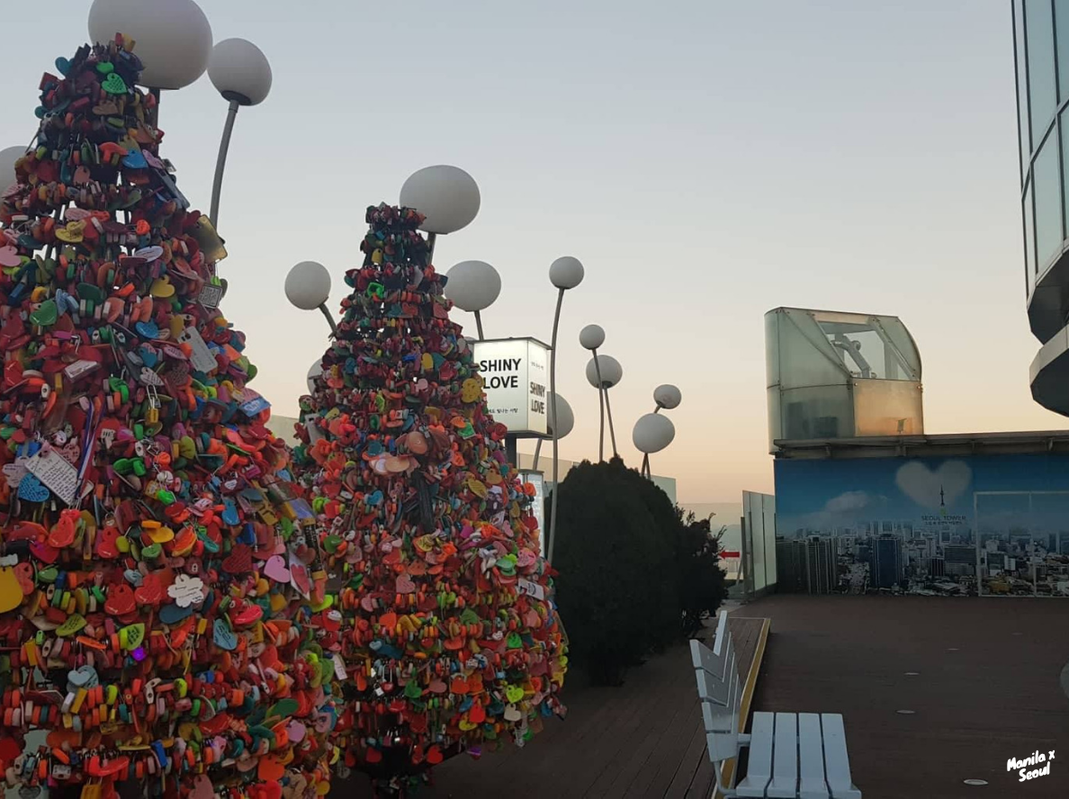 N Seoul Tower - A perfect date idea