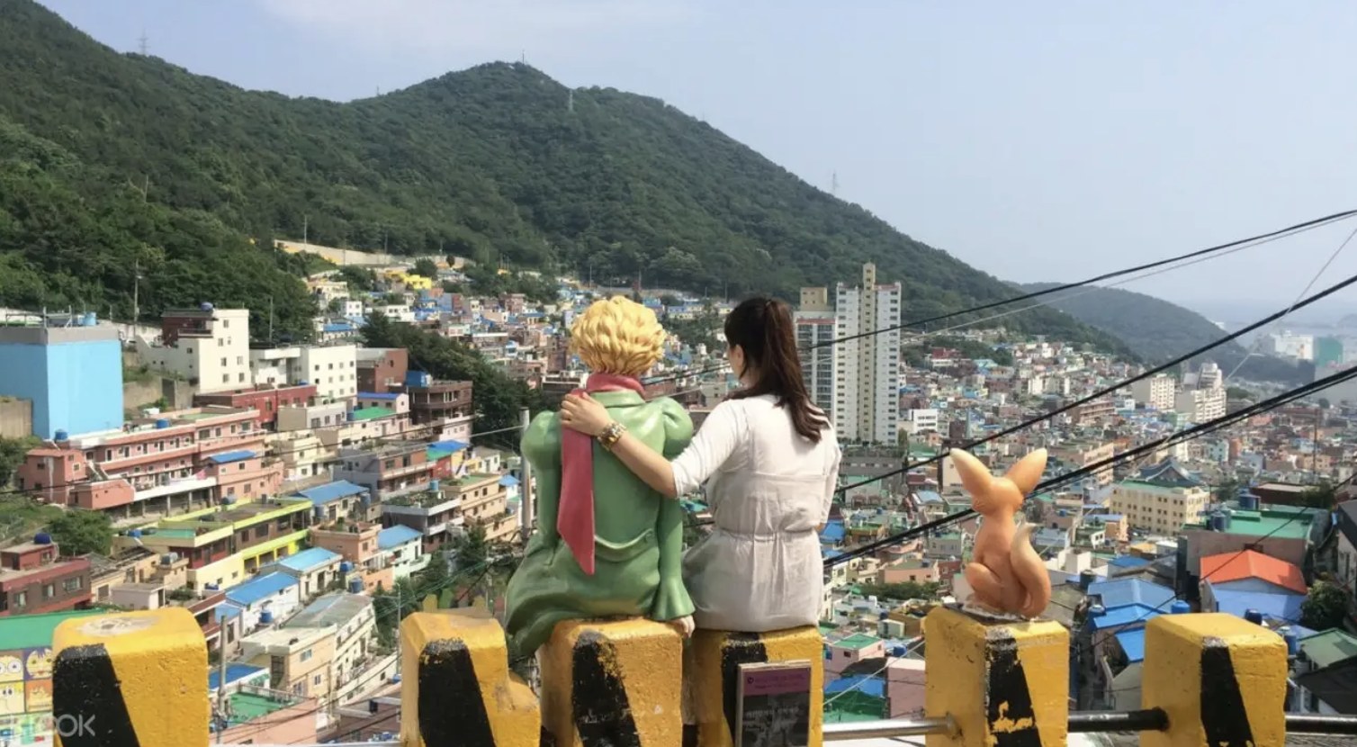The Little Prince at Gamcheon Culture Village. Screengrab from  Klook