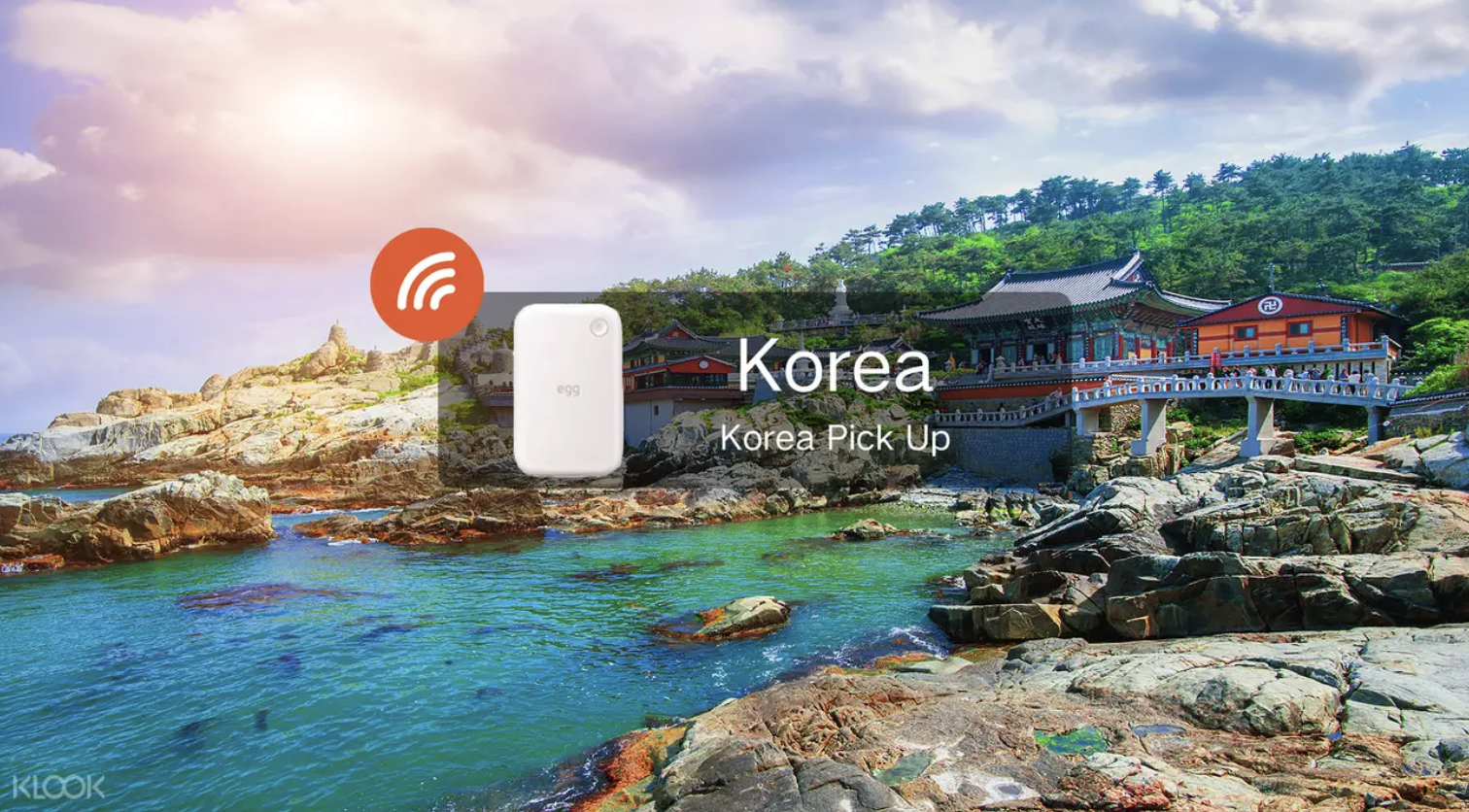 Get your pocket Wifi for Korea  here . Screengrab from  Klook .
