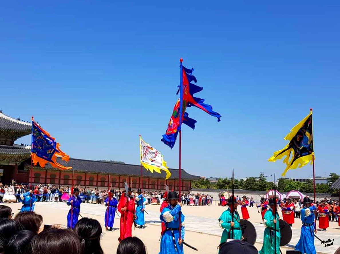 Changing of the Guards Ceremony (수문장) at Gyeongbok Palace. Highly-recommended addition to a first-timer's itinerary.