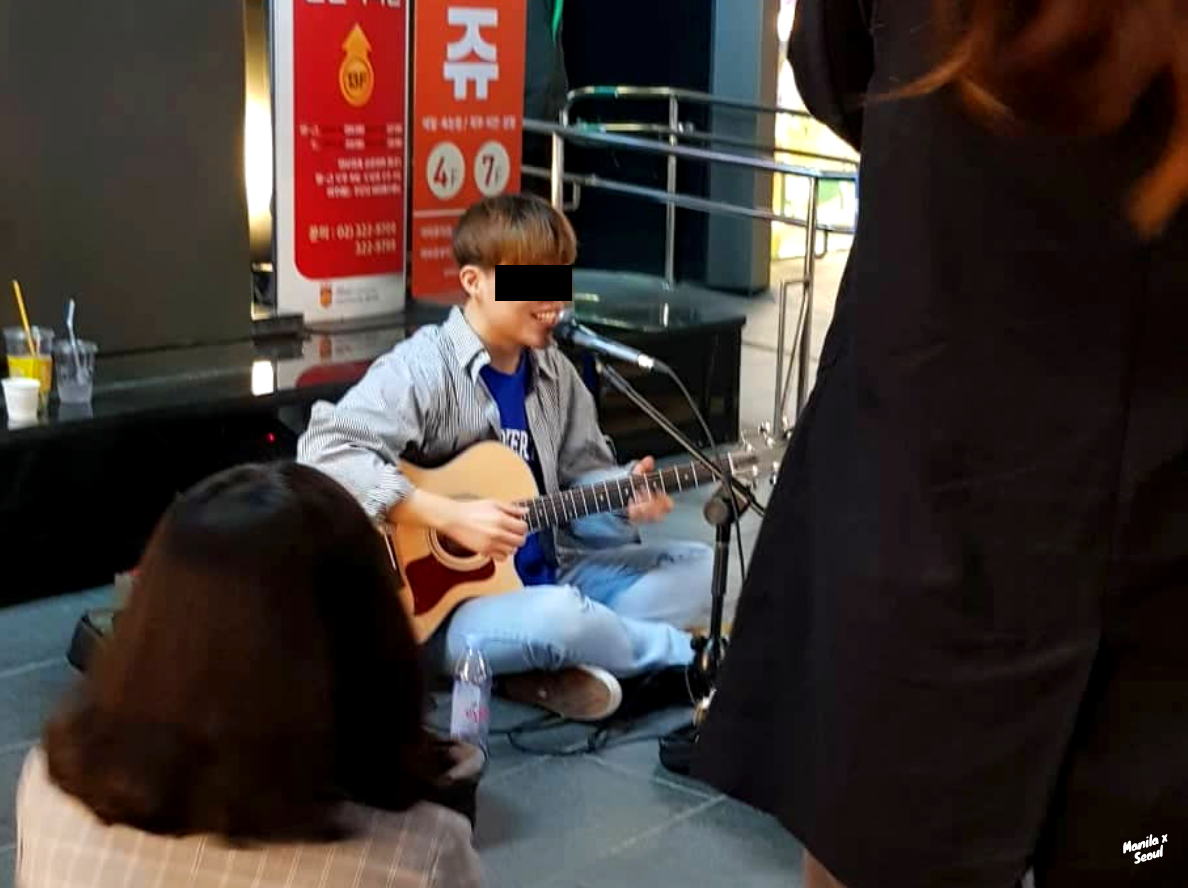 Mini-concerts at Hongdae in Seoul, South Korea — a must add to your list of things to do in Seoul!