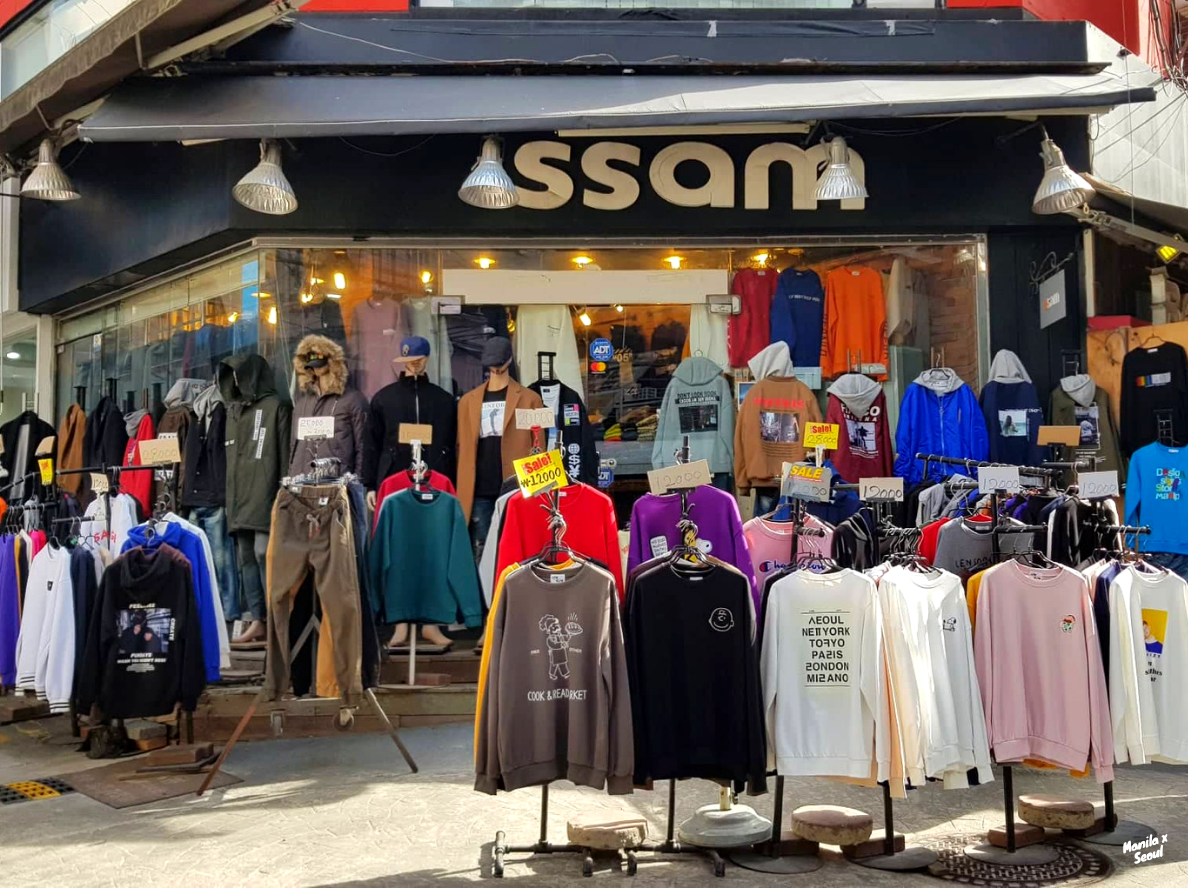 The area surrounding Ehwa Womans University is definitely one of the best places to shop in Seoul!