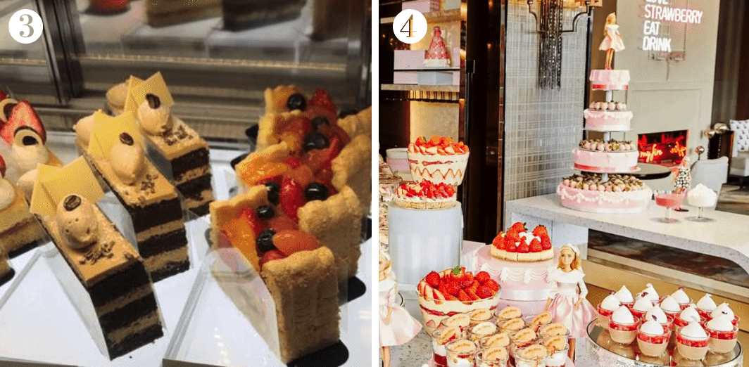 Seoul travel guide for dessert places in the city. Check out Seoul Baking Company and the delectable Strawberry Buffet at JW Marriott Dongdaemun. Image credit: (3)  망고플레이트 ; (4)  Klook
