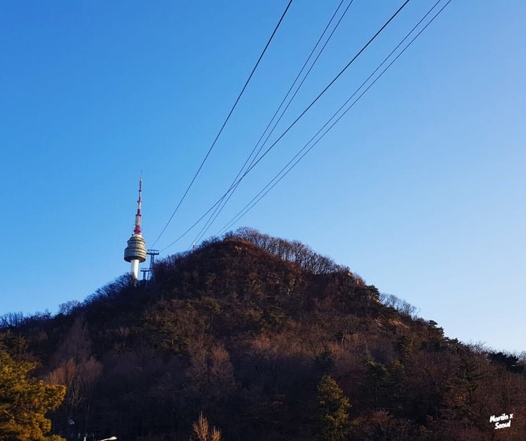 N Seoul Tower Cable Car