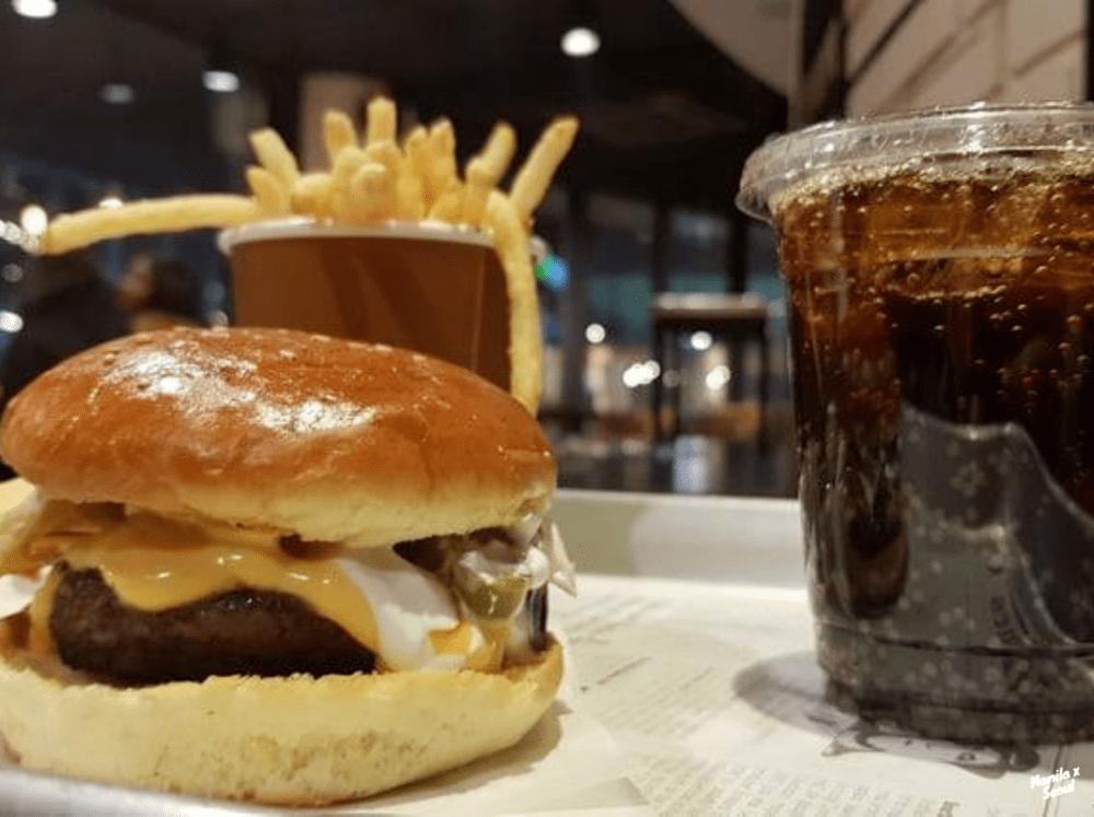 Nacho Burger at N B urger
