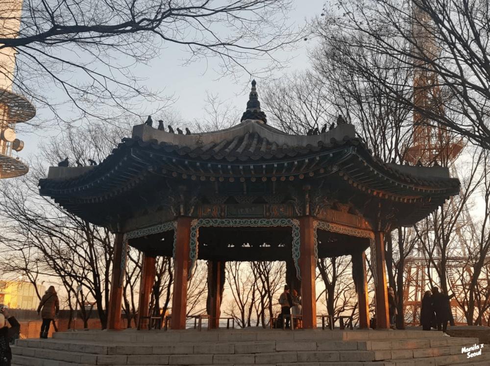 Pagoda at Namsan Park