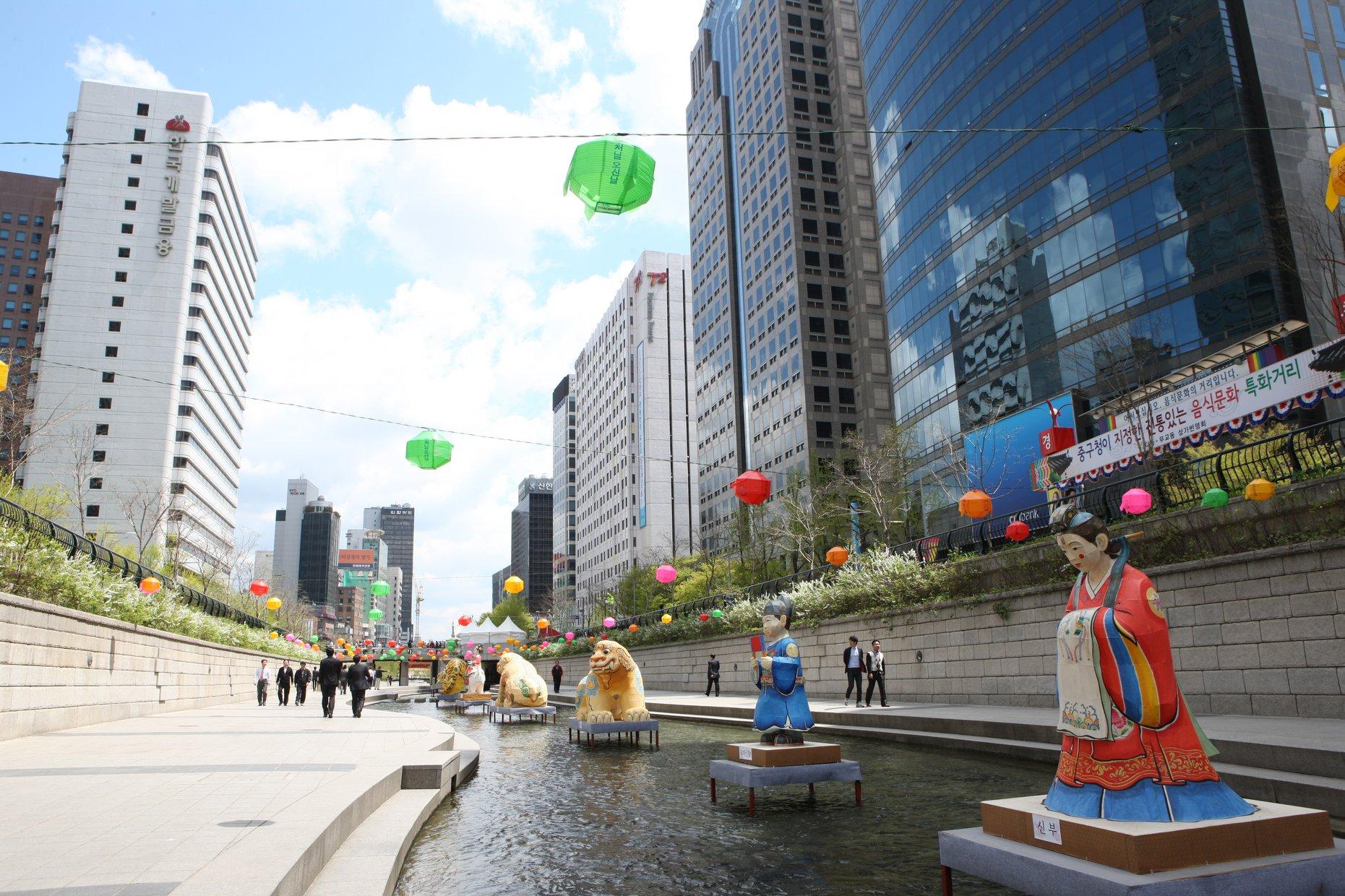 DAY 4 - Cheonggyecheon Stream.