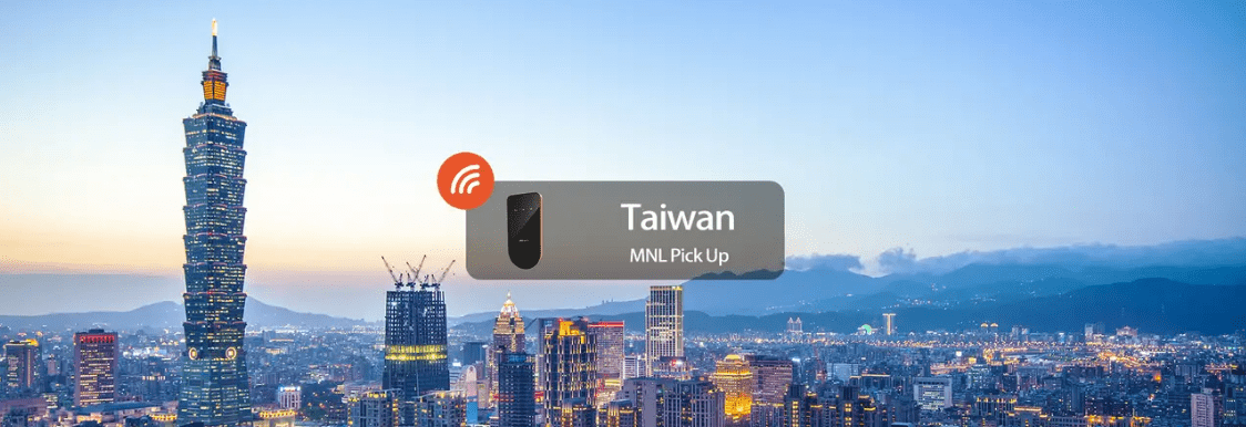 Pocket wifi for Taiwan that can be delivered to your preferred address in Manila and other parts in the Philippines. Screengrab from  Klook