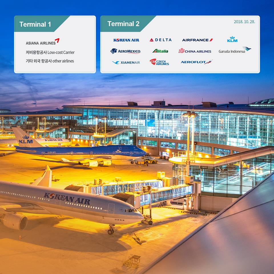 Infographic from  Incheon International Airport