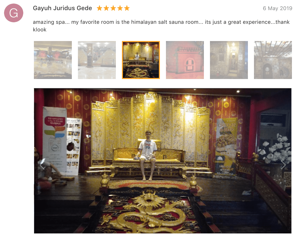 'Amazing spa... My favorite room is the Himalayan salt sauna room... It's just a great experience...' - Dragon Hill Spa Seoul Review