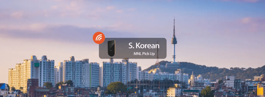 Traveling to Korea from the Philippines? Have your pocket Wifi delivered to your local address before your flight!