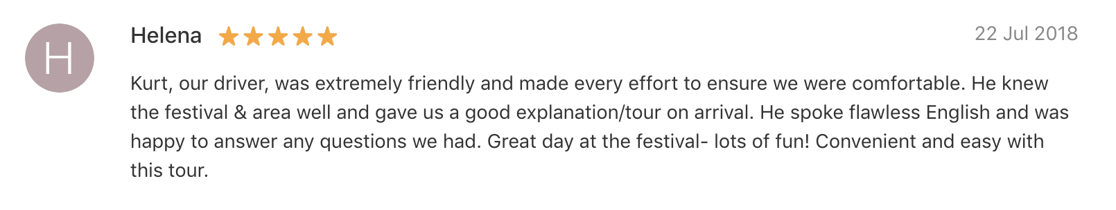 '…[Our driver] was extremely friendly… He knew the festival & area well and gave us a good explanation/tour on arrival.' - Boryeong Mud Festival Tour Review