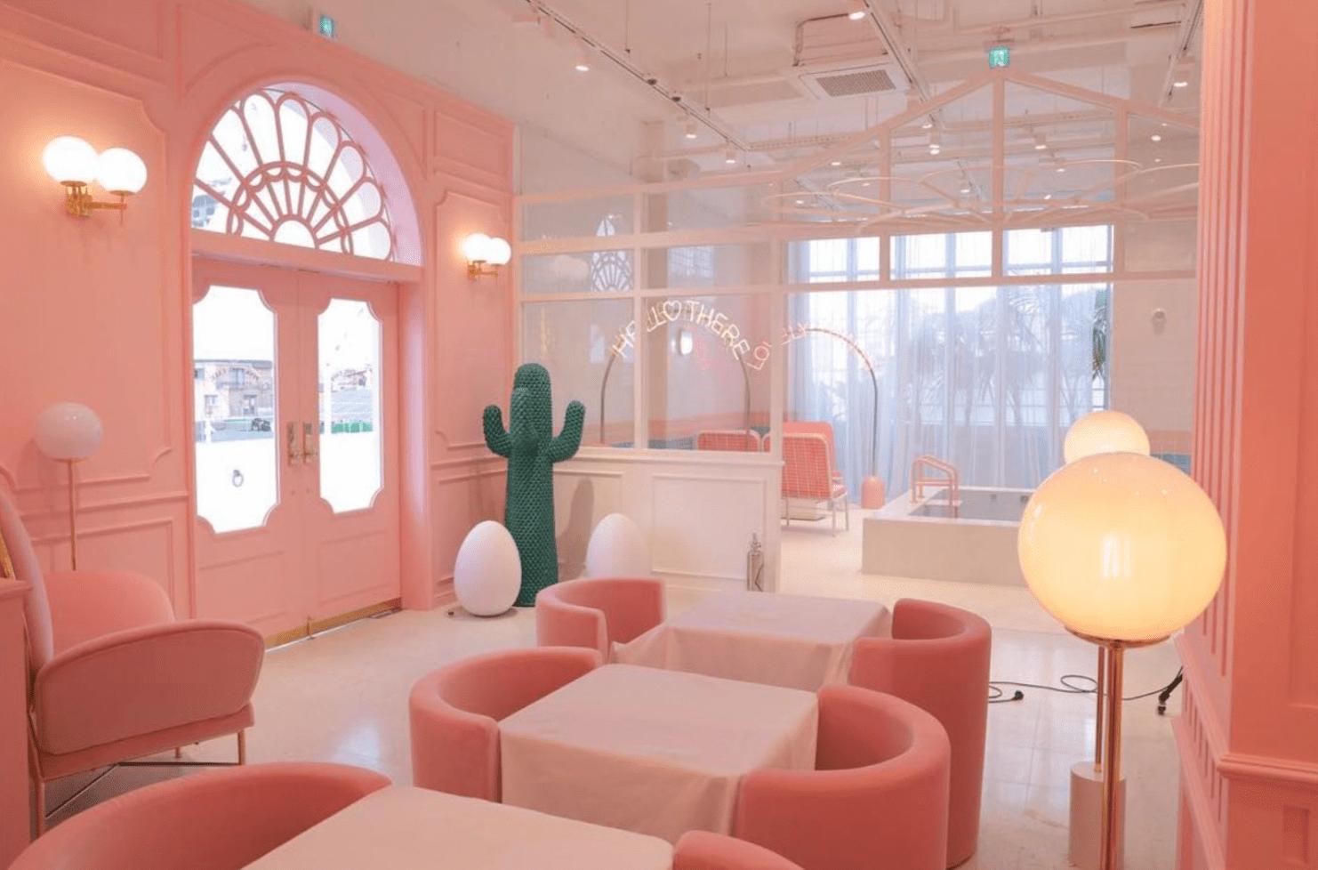Image credit:   @pinkpoolcafe    on Instagram