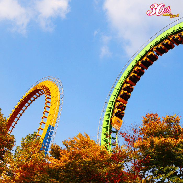 Seoul Land Amusement Park — hailed Korea's first large-scale theme park! Image credit:  Seoul Land  Facebook page