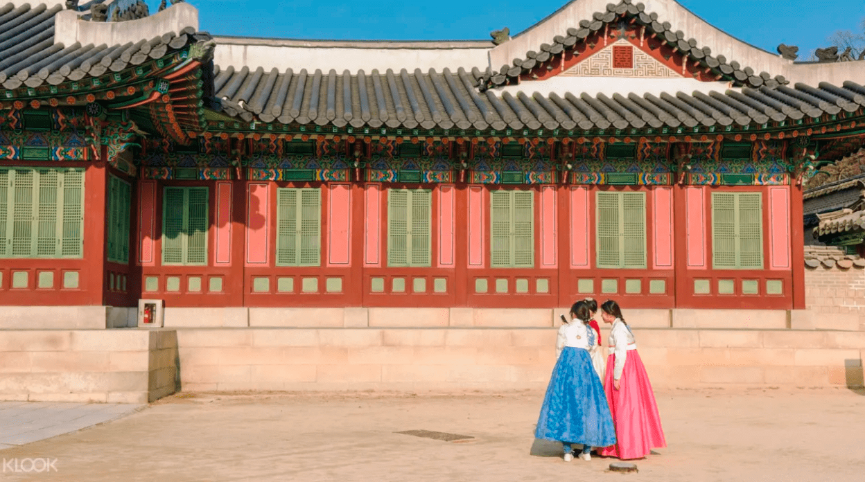 Focused tour of the iconic palaces in Seoul! Screengrab from  Klook