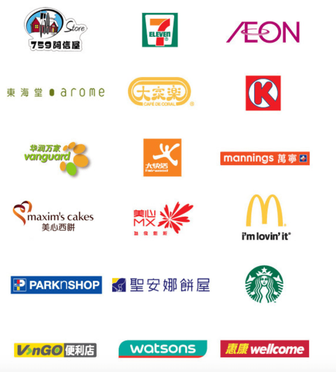 Where to reload your Octopus Card? Over a thousand locations in Hong Kong, that's where! Image credit:  Octopus Cards Limited