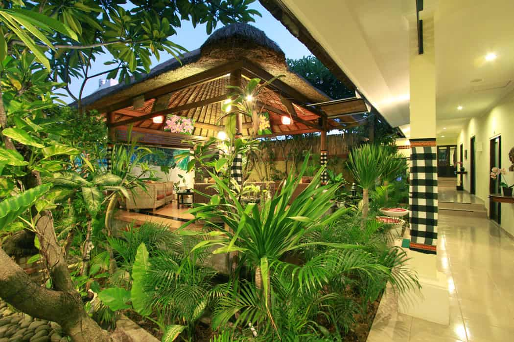 Treat yourself to this spa in Bali that offers massage services for solo and couple travelers. Image credit: Bali Orchid Spa