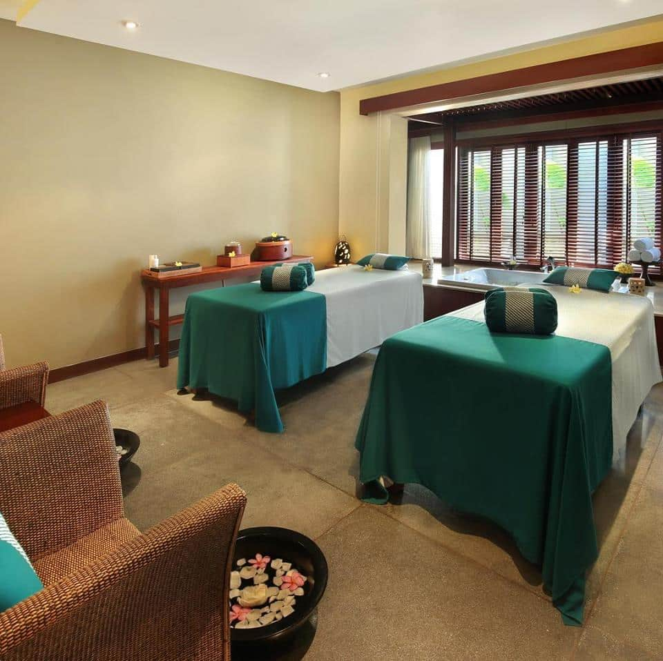 Get the mood enhancement that you need when you visit the Visala Spa in Bali Niksoma Resort. Image credit: Bali Niksoma Boutique Beach Resort