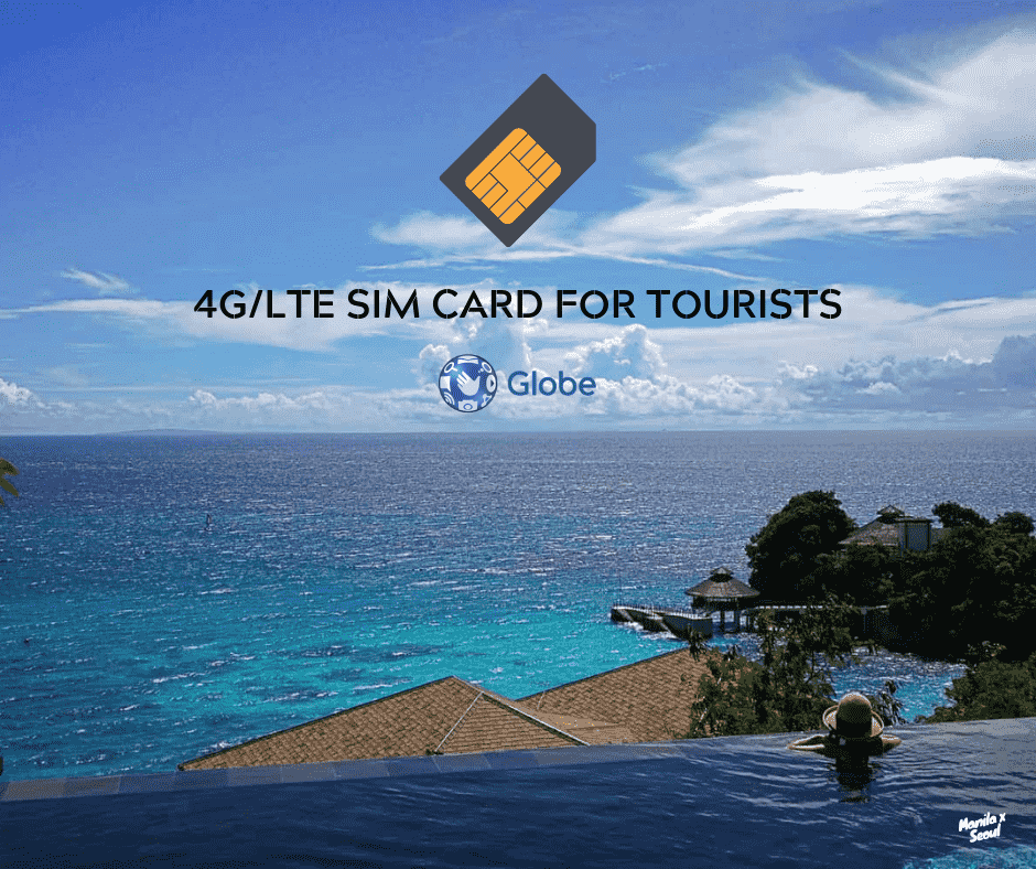Get connected in Boracay with a tri-cut LTE SIM Card!