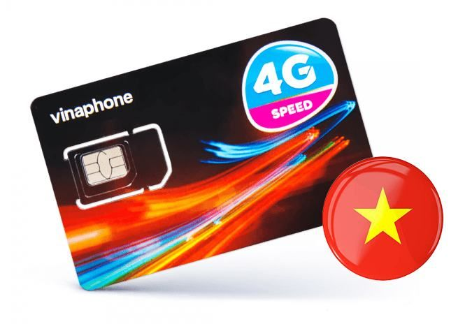Vinaphone 4G SIM Card for Hanoi, Vietnam. Actual booked product may vary. Image credit:  CKGExpress