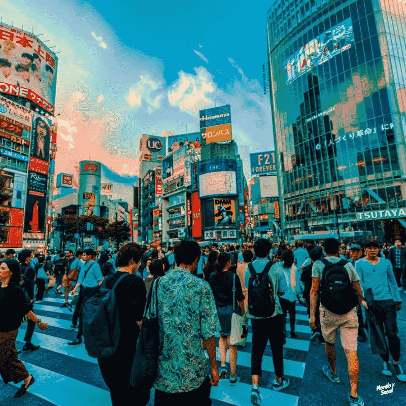 shibuya. - via Tokyo Subway (Tokyo Metro)Credit: Jezael Melgoza