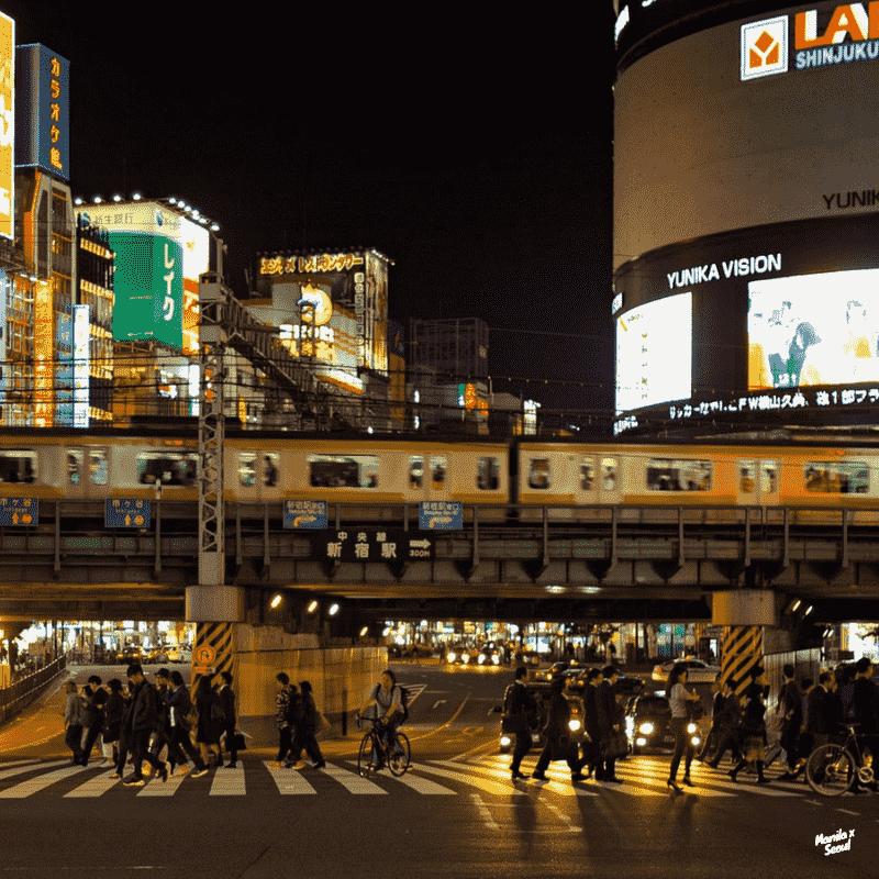shinjuku. - via Tokyo Subway (Tokyo Metro)Credit: Sérgio Rola