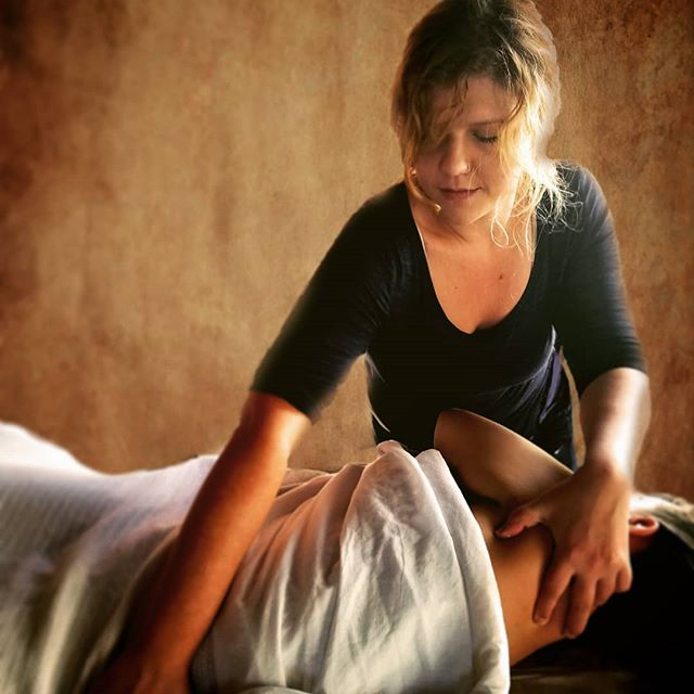 In good hands!  #massagetherapy #relaxation #holistichealth