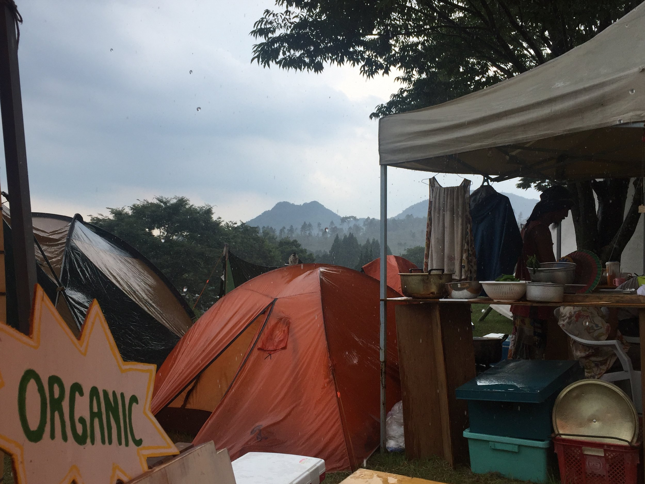 Camping at One Love Peace Camp