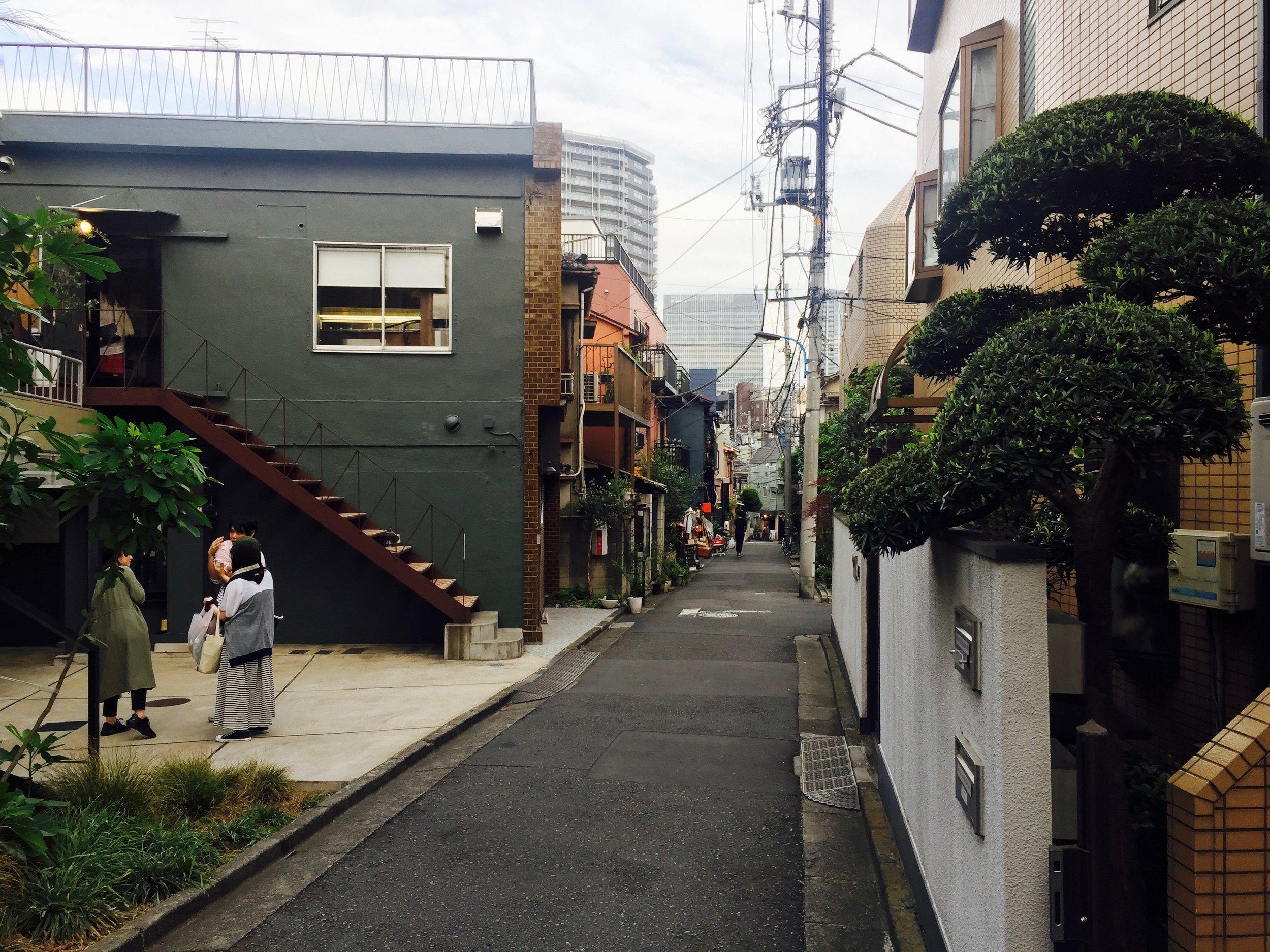 Street in Kagurazaka
