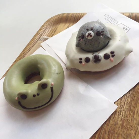 Super adorable kawaii donuts in Koenji