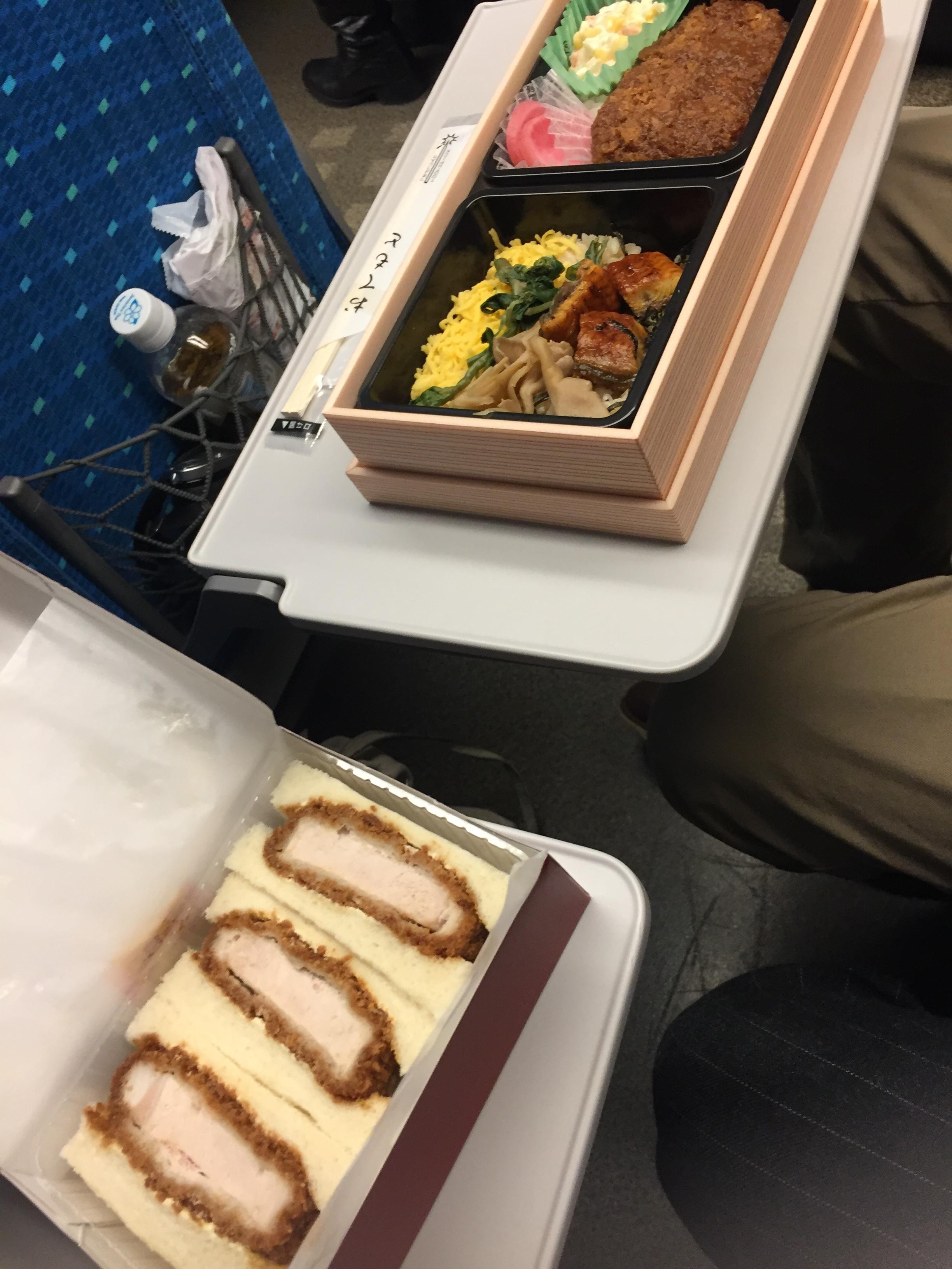 Ekibento on the Shinkansen