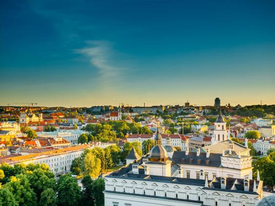 The city is famous for its baroque architecture  Shutterstock/Grisha Bruev
