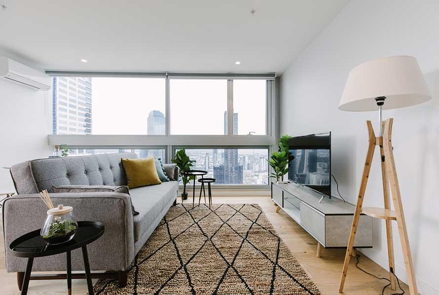 2BR Luxurious CBD Suite, Best Views (FREE Parking) -