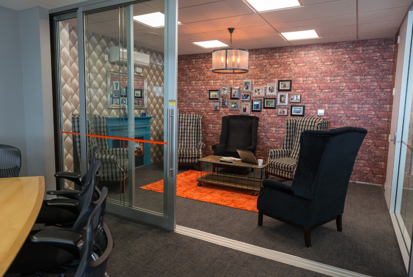 The Lounge - the most popular meeting room