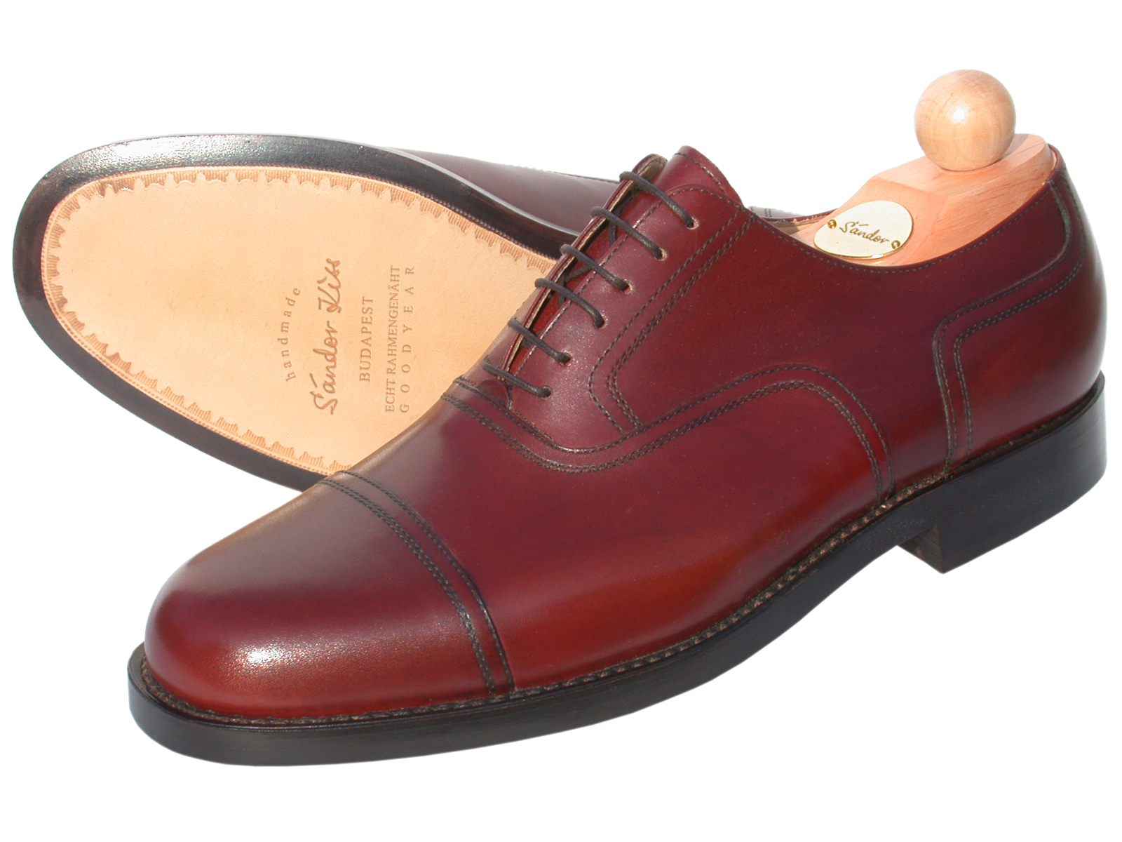 Captoe Oxford Boxcalf cotto