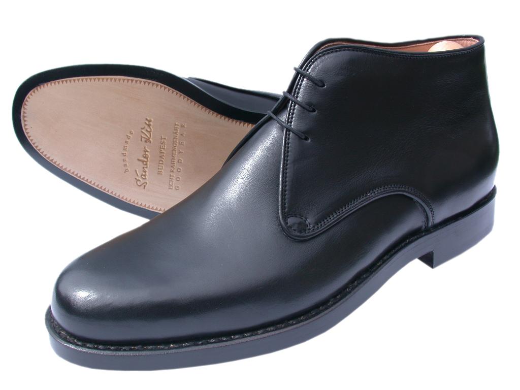 Boot Boxcalf schwarz