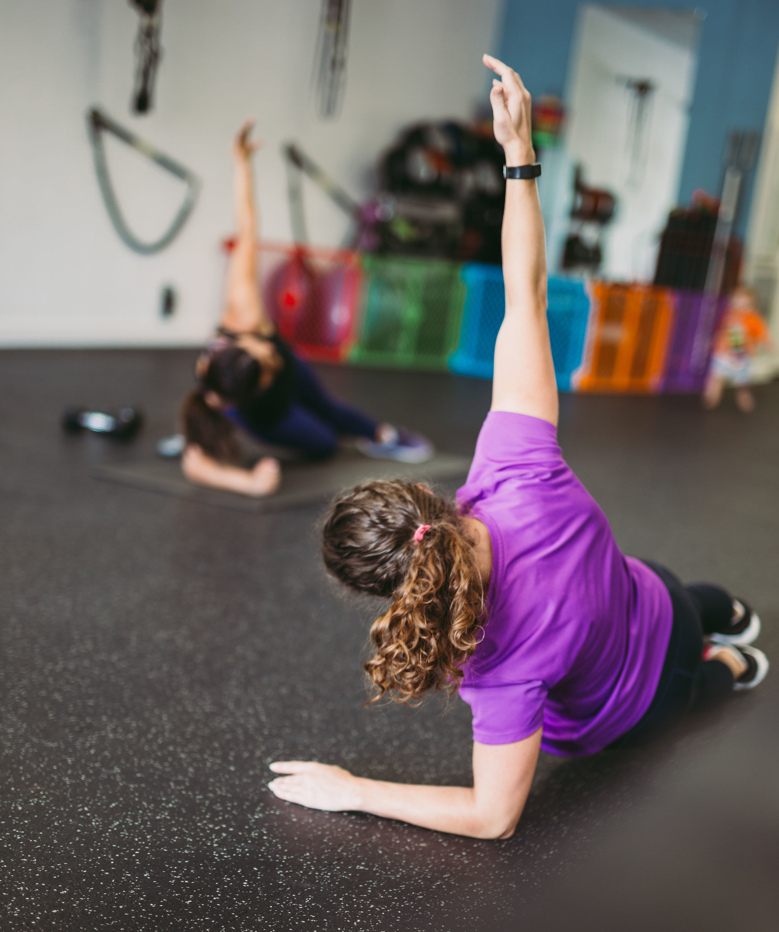 Don't see a class time that works for you? We offer one-on-one sessions for one-time visits, on-going regularly scheduled sessions, or private small group sessions with a certified personal trainer!