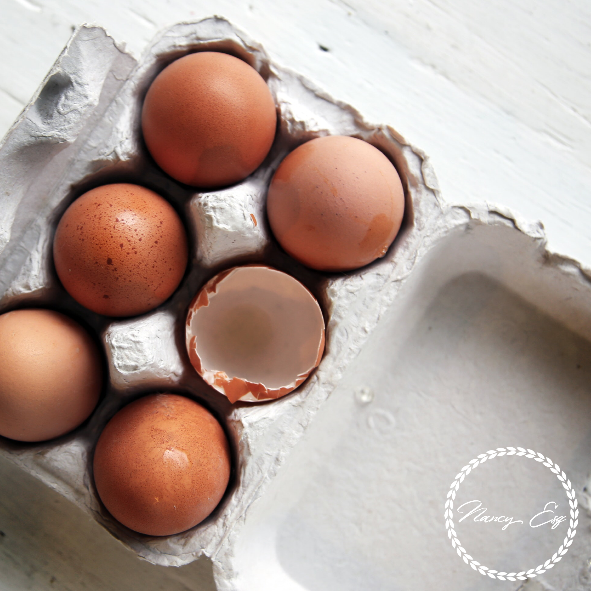 When to crack the eggs?  - hint: only one time, so make it count.