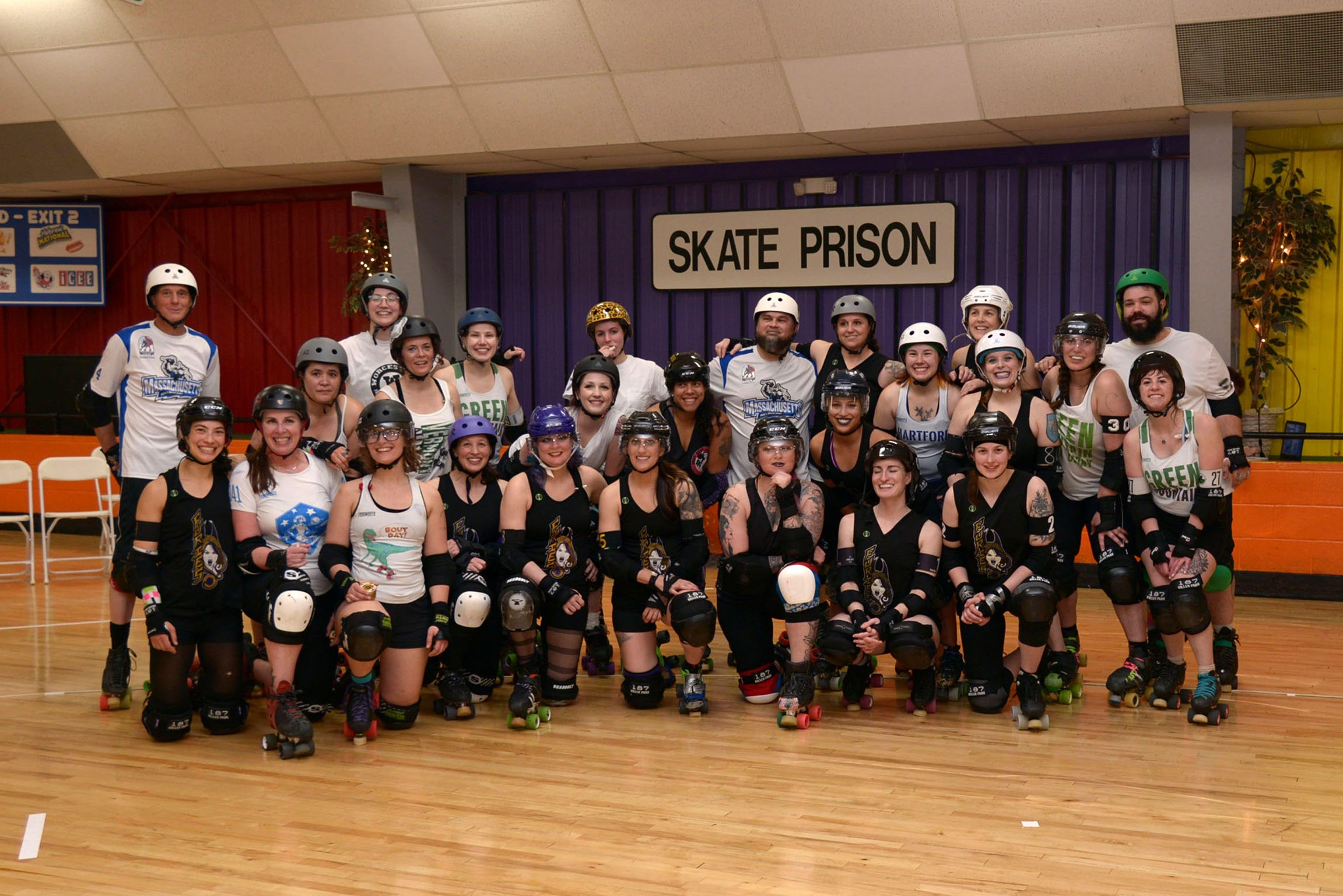 Look at these cuties! This is the Western Mass Furies and The World team posting together.