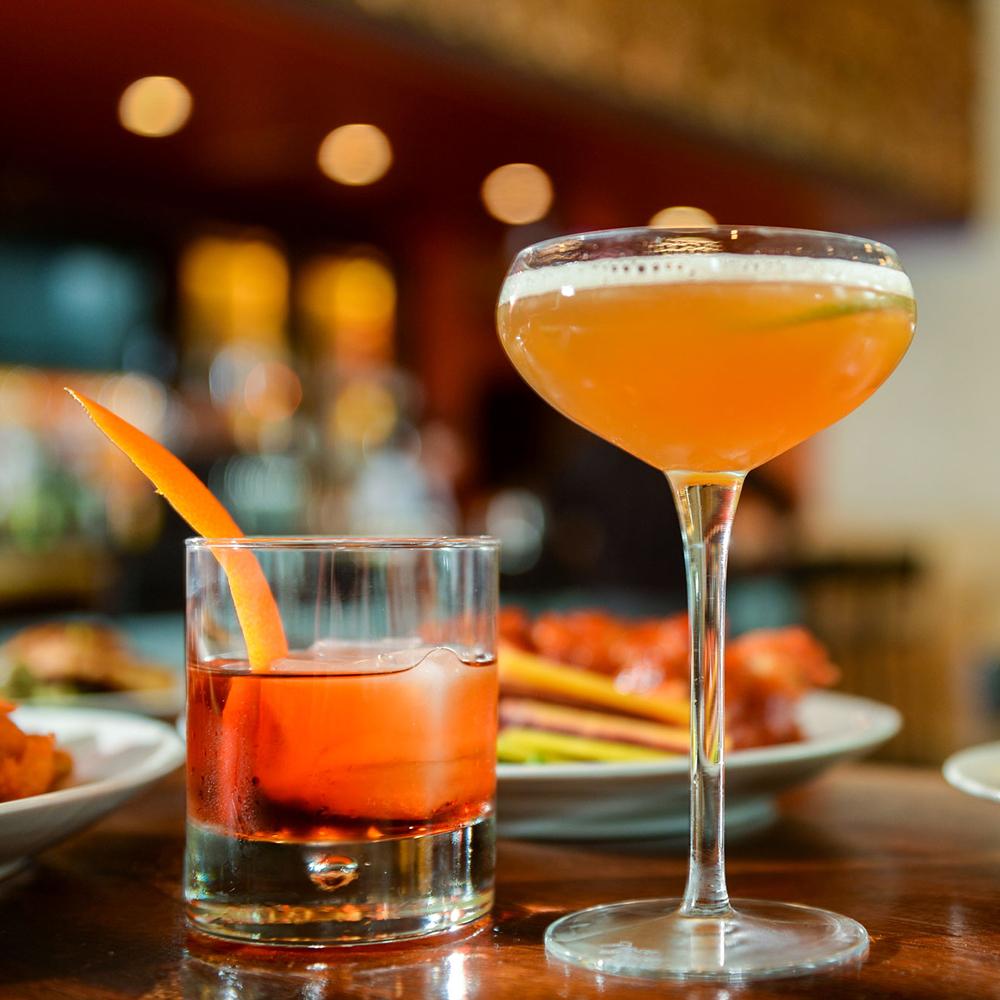 Cocktails & Spirits - menu