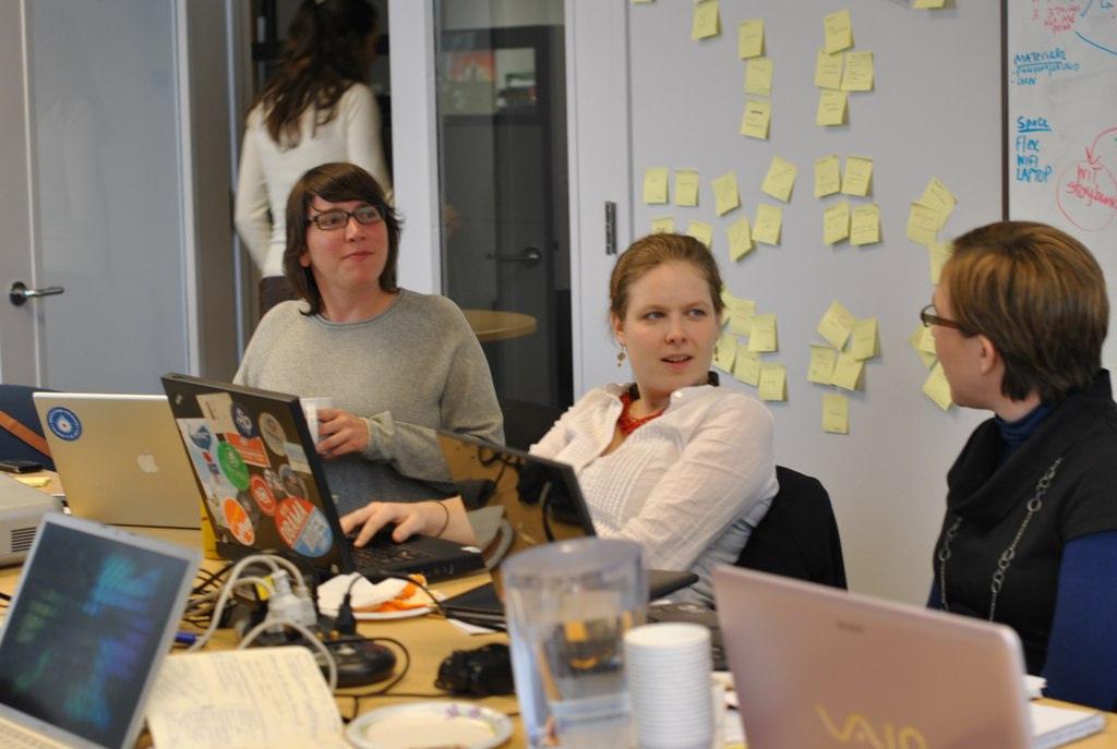 Planning meeting for a digital activism workshop (San Francisco, 2011)