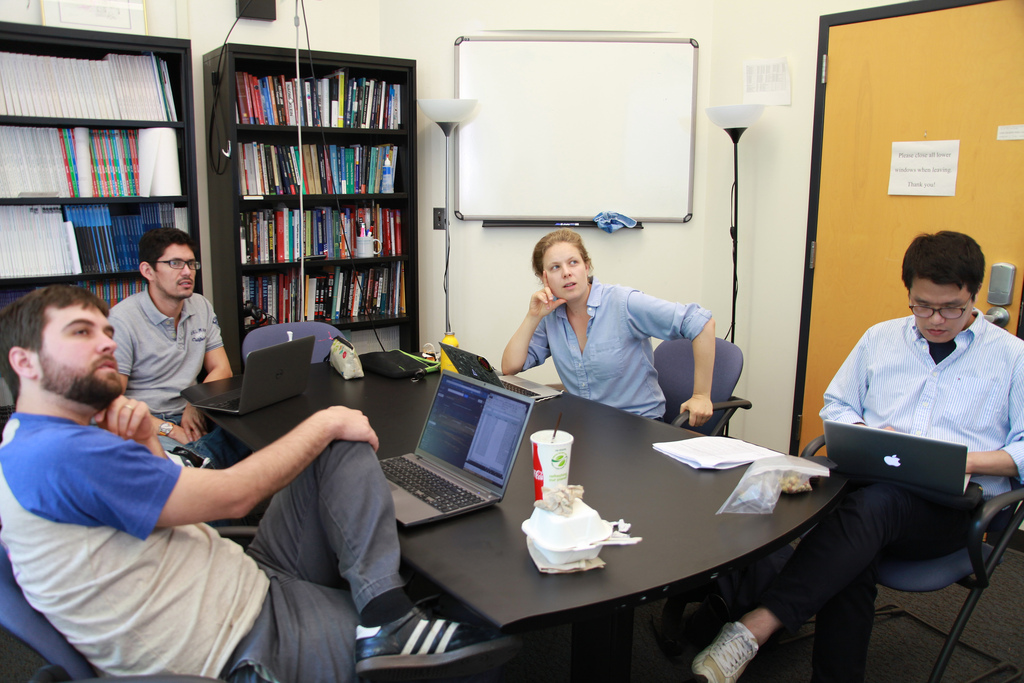 Leading a team of researchers on the Global Digital Activism Data Set (Seattle, 2013)