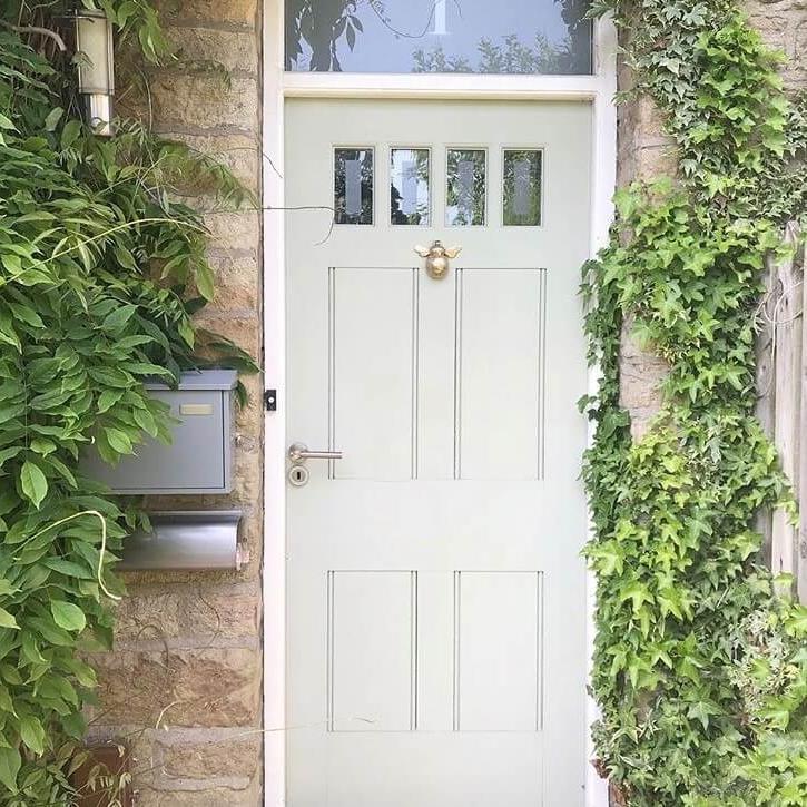 Brass Bee Door Knocker | Customer Photo | Coates & Warner