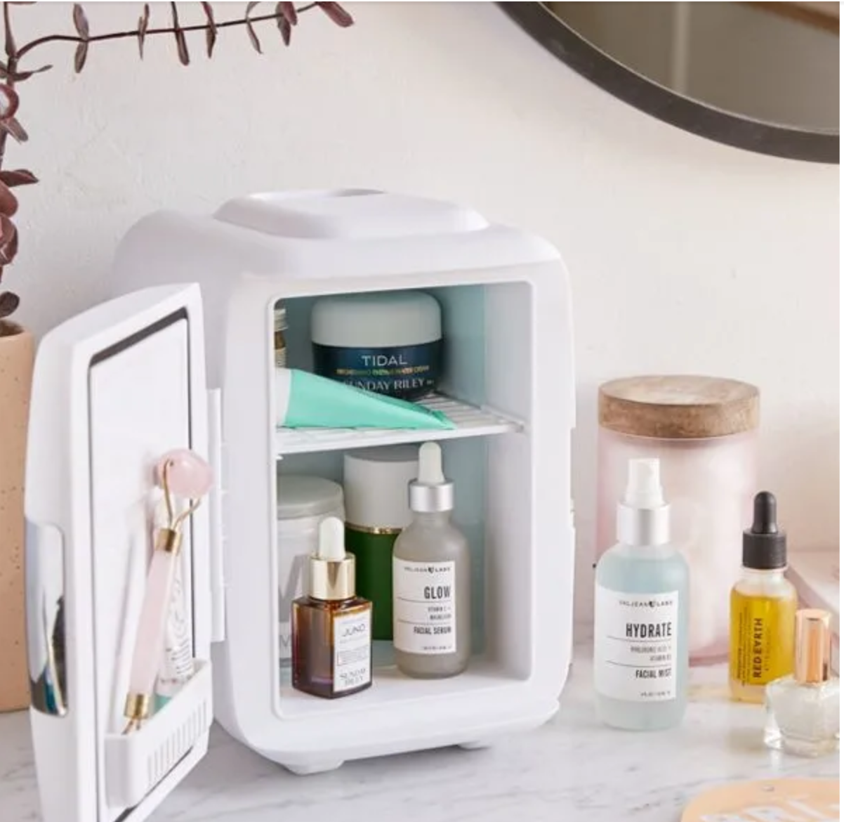 BENEFITS OF THOSE SKIN-CARE MINI FRIDGES -