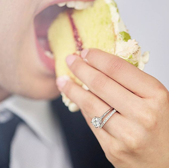 Blue Nile - wedding cake and ring.png