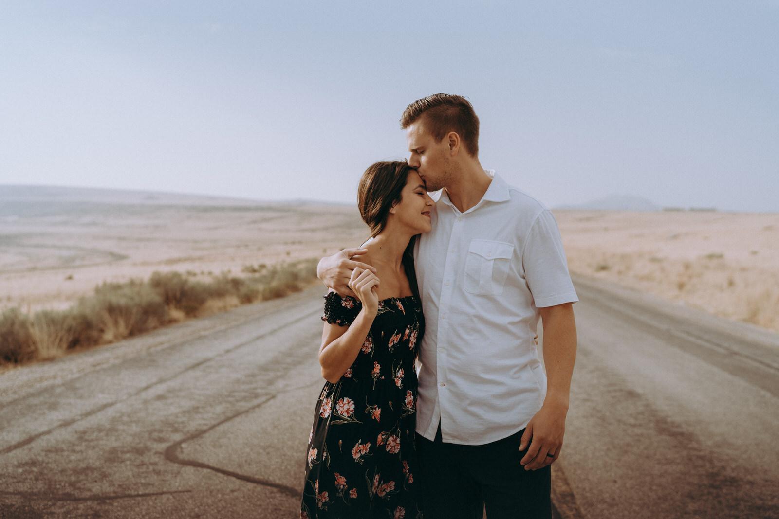 Antelope Island Engagement Photos- Utah Wedding Photographer- Gabrielle and Ethan-58.JPG