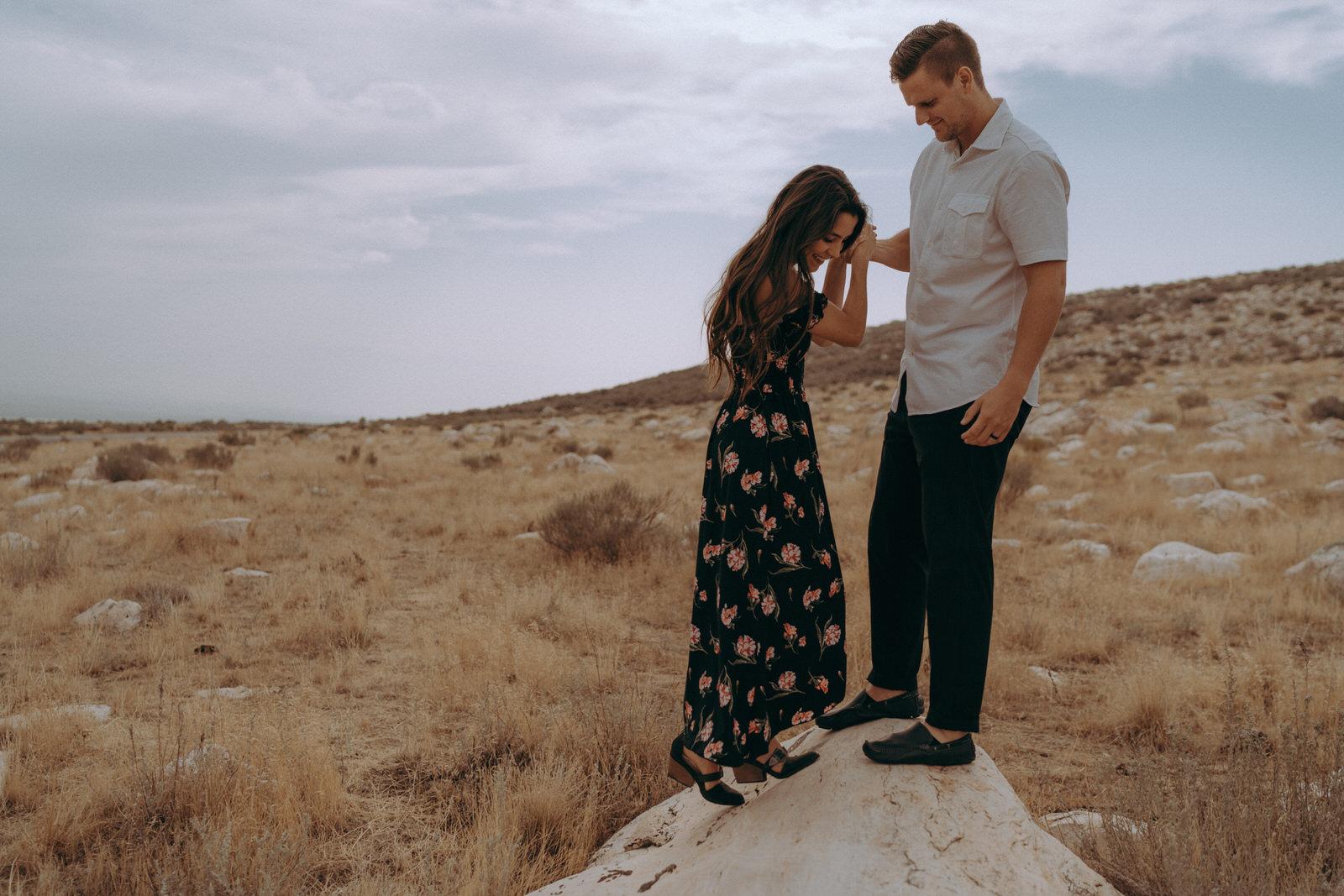 Antelope Island Engagement Photos- Utah Wedding Photographer- Gabrielle and Ethan-99.JPG