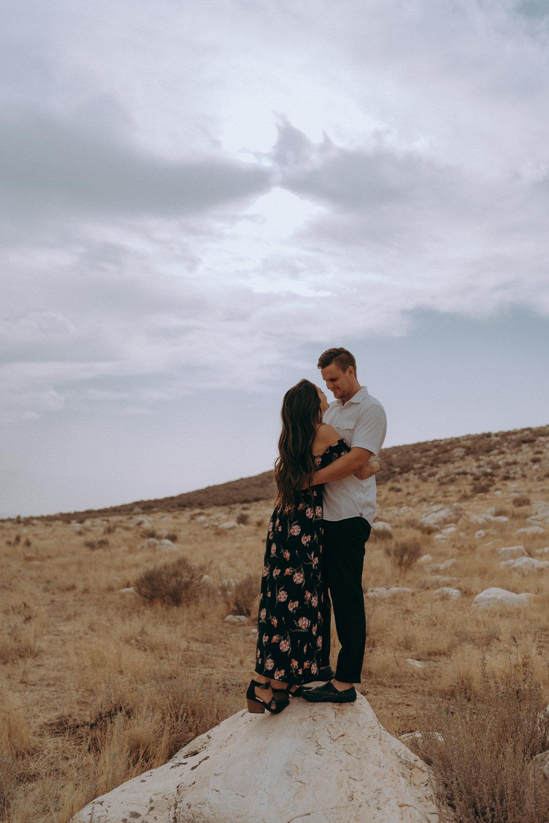 Antelope Island Engagement Photos- Utah Wedding Photographer- Gabrielle and Ethan-112.JPG